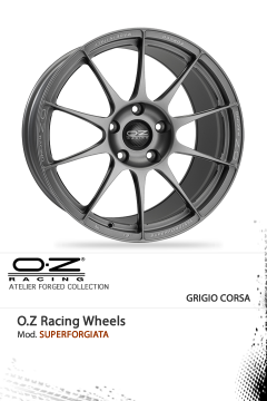 O.Z RACING SUPERFORGIATA